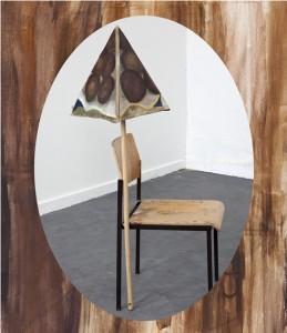Bollenhut 3D mit Stuhl